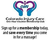 One hour Vacation Membership Club -Sign up for a membership today, and save every time you come in for a massage!